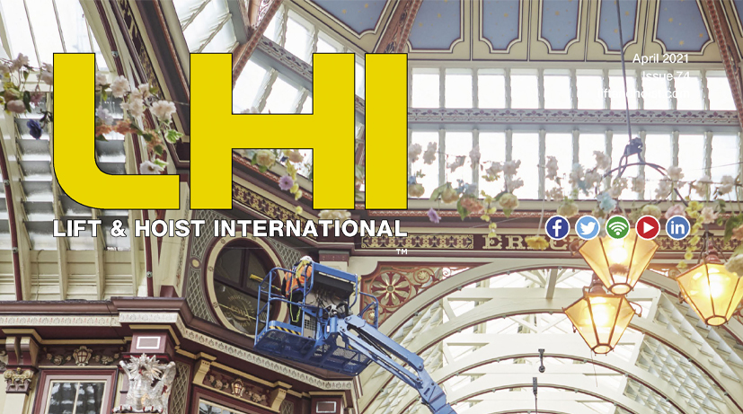 Tiger's Technical Manager interviewed within a manual hoists article in April's edition of Lift & Hoist International