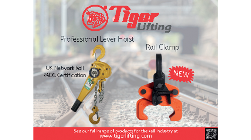 Tiger Products Featured in The 2019 Rail Supplies Directory