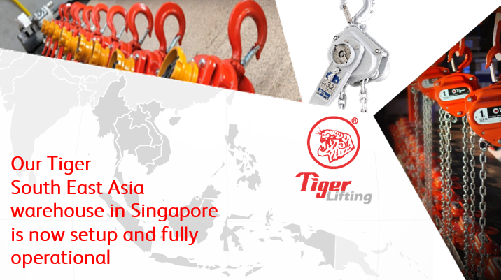 Tiger South East Asia warehouse now open